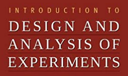 AB 31082 - Designs & Analysis of Experiments