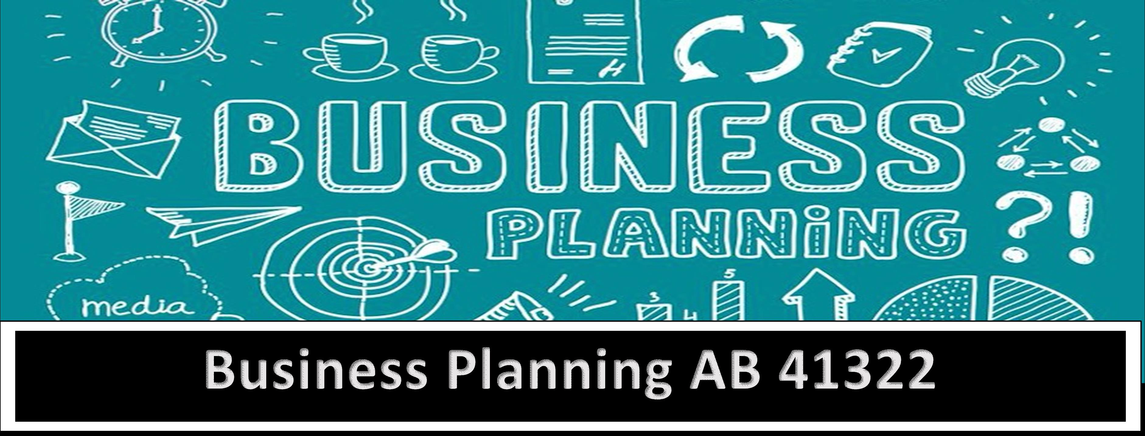 AB 41322 Business Planning - 2021